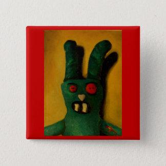 Hoku Zombie Bunny 1 2 Inch Square Button