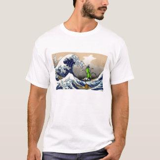 hokusai_1280-800, hopper-karatekid_TS T-Shirt