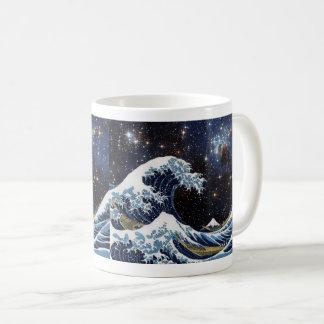 Hokusai and The_Great_Wave_off_Kanagawa + LH 95 Coffee Mug