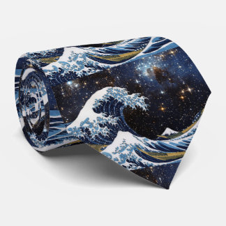 Hokusai and The Great Wave OFF Kanagawa + LH 95 Tie