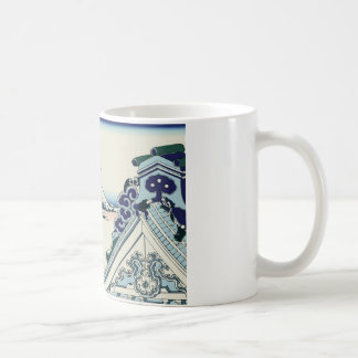 Hokusai Asakusa Hongan-ji temple Classic White Coffee Mug