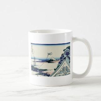 Hokusai Asakusa Hongan-ji temple Coffee Mug