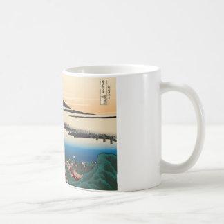 Hokusai Dawn at Isawa Classic White Coffee Mug