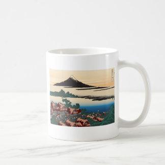 Hokusai Dawn at Isawa Mug
