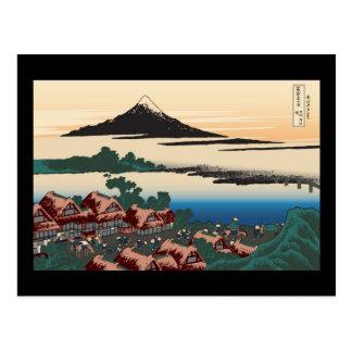 Hokusai Dawn at Isawa Postcard