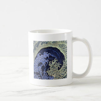 Hokusai Feminine Wave Classic White Coffee Mug