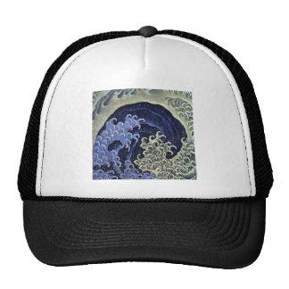 Hokusai Feminine Wave Hats