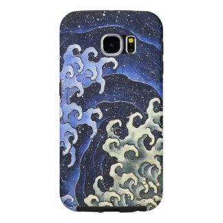 Hokusai Feminine Wave Japanese Vintage Fine Art Samsung Galaxy S6 Cases