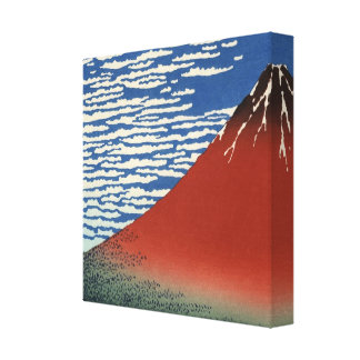 Hokusai 'Fine Wind, Clear Morning' Canvas Print