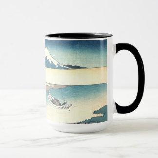 Hokusai: Fuji from a Boat Mug