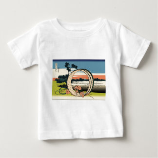 Hokusai Fuji View Field in Owari Province T Shirt
