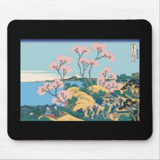 Hokusai Gotenyama Hill Mousepad