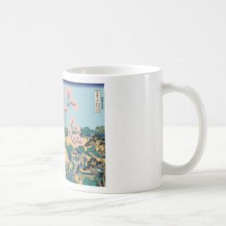 Hokusai Gotenyama Hill Mugs