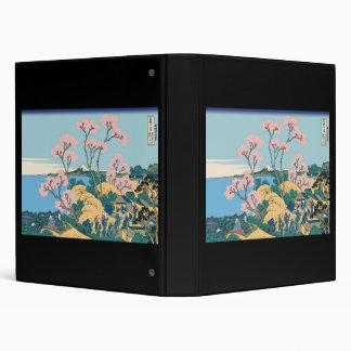 Hokusai Gotenyama Hill Vinyl Binders