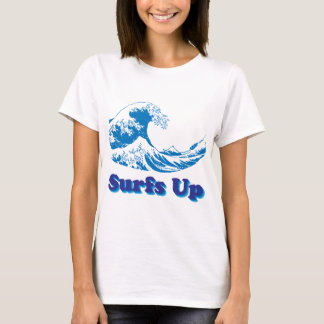 Hokusai Great Wave Surfs Up T-Shirt
