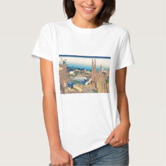Hokusai Honjo Tatekawa T-shirts