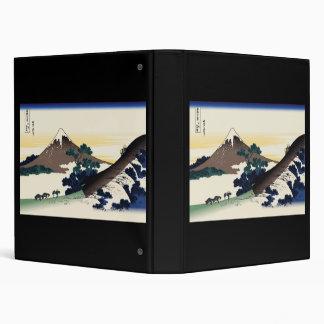 Hokusai Inume Pass Koshu 3 Ring Binder