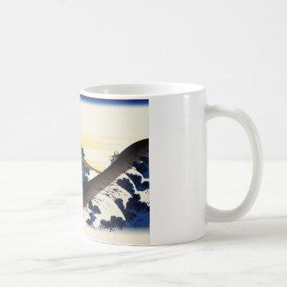 Hokusai Inume Pass Koshu Classic White Coffee Mug