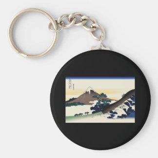 Hokusai Inume Pass Koshu Key Chain