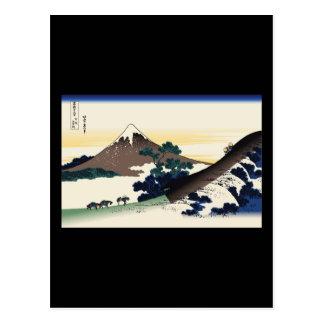 Hokusai Inume Pass Koshu Postcard