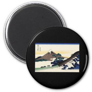 Hokusai Inume Pass Koshu Refrigerator Magnet