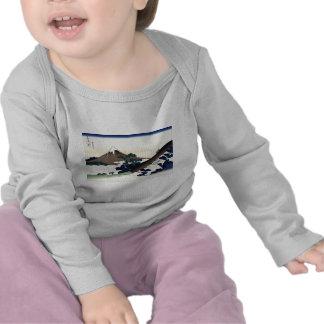 Hokusai Inume Pass Koshu T Shirts
