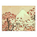 Hokusai - Japan - Mt. Fuji Postcard