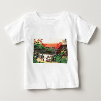Hokusai - Japanese Art - Japan Baby T-Shirt