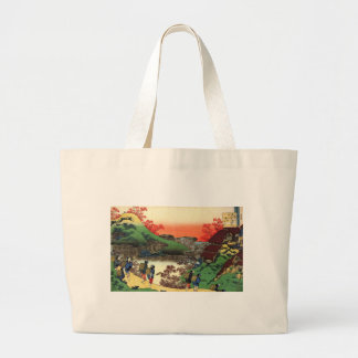 Hokusai - Japanese Art - Japan Large Tote Bag