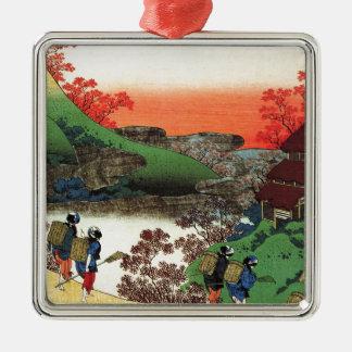 Hokusai - Japanese Art - Japan Metal Ornament