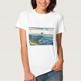 Hokusai Kajikazawa in Kai Province Shirts