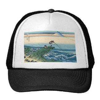 Hokusai Kajikazawa in Kai Province Trucker Hats