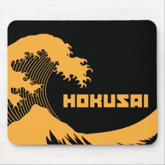 Hokusai - la grande vague tapis de souris