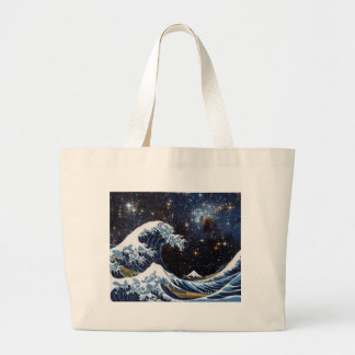Hokusai & LH95 Large Tote Bag