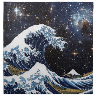 Hokusai & LH95 Napkin