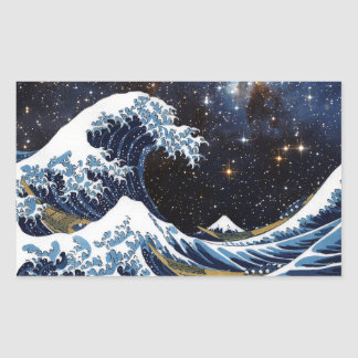 Hokusai & LH95 Sticker