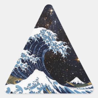 Hokusai & LH95 Triangle Sticker