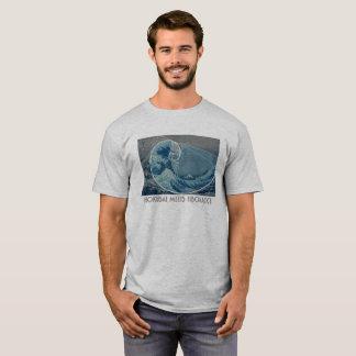 Hokusai Meets Fibonacci, Golden Ratio #2 T-Shirt