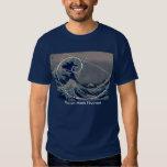 Hokusai Meets Fibonacci, Golden Ratio Shirt