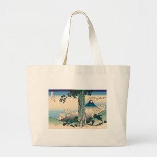 Hokusai Mishima Pass in Kai Province Jumbo Tote Bag
