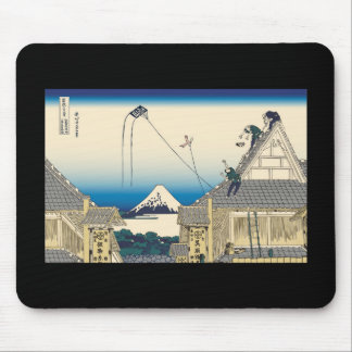 Hokusai Mitsui shop in Suruga in Edo Mouse Pads