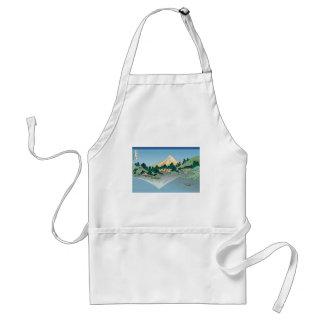 Hokusai Mount Fuji reflects in Lake Kawaguchi Standard Apron