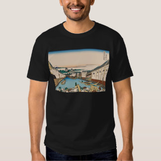 Hokusai Nihonbashi bridge in Edo Tee Shirt