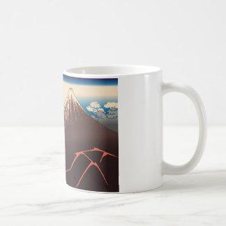 Hokusai Rainstorm Beneath the Summit Coffee Mugs