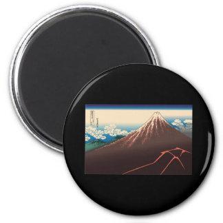 Hokusai Rainstorm Beneath the Summit Magnet