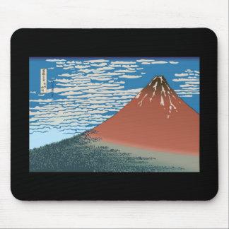 Hokusai Red Fuji Mousepads