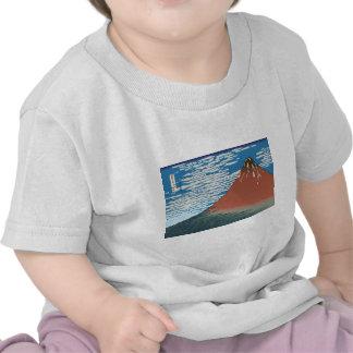 Hokusai Red Fuji Shirt