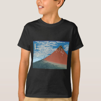 Hokusai Red Fuji T-shirts