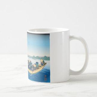 Hokusai Ryogoku Bridge Mug