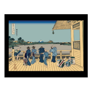 Hokusai Sazai Hall Postcard